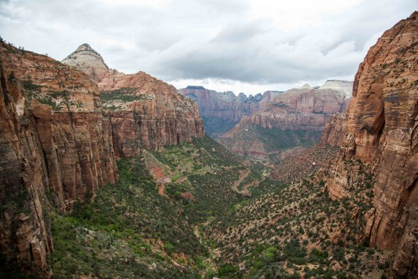 Zion Canyon Overlook-16