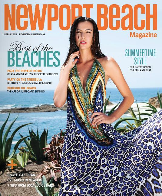 Newport Beach Magazine - Palms to Pines