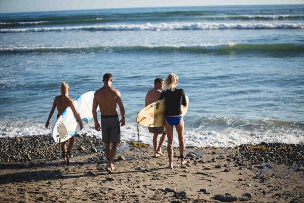 San Onofre Surf Day | Palms to Pines