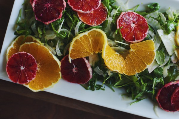 Fennel, Arugula, Blood Orange Salad | Palms to Pines