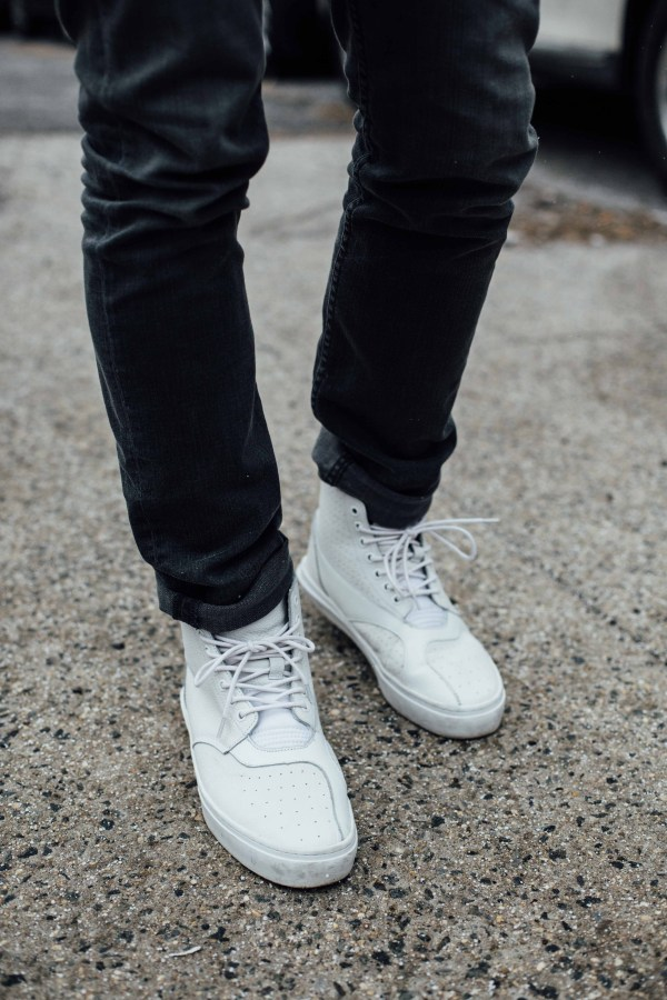 Clear Weather Shoes   H&M Sweater   Palms to Pines