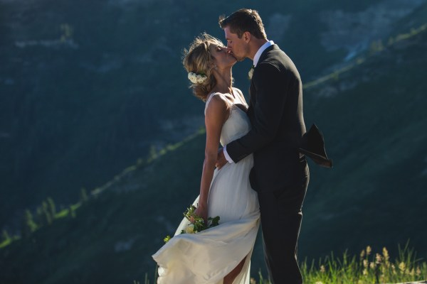 Married at Bearclaw cabin, at the top of Sundance Resort!