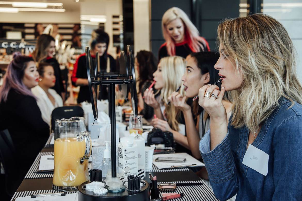 Sephora Beauty Class | Pacific City | Palms to Pines