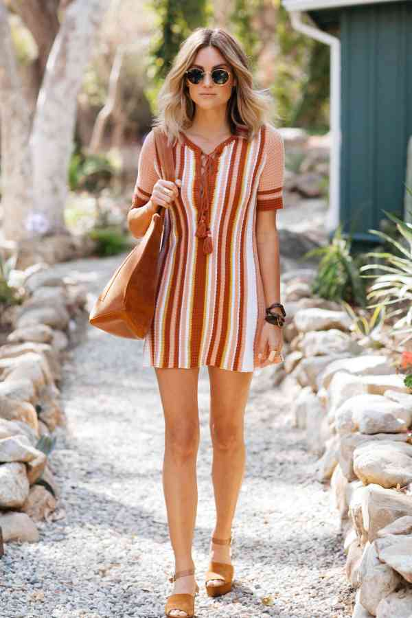 Foxes and Wolves | Palms to Pines | Free People Lollipop Sweater Dress