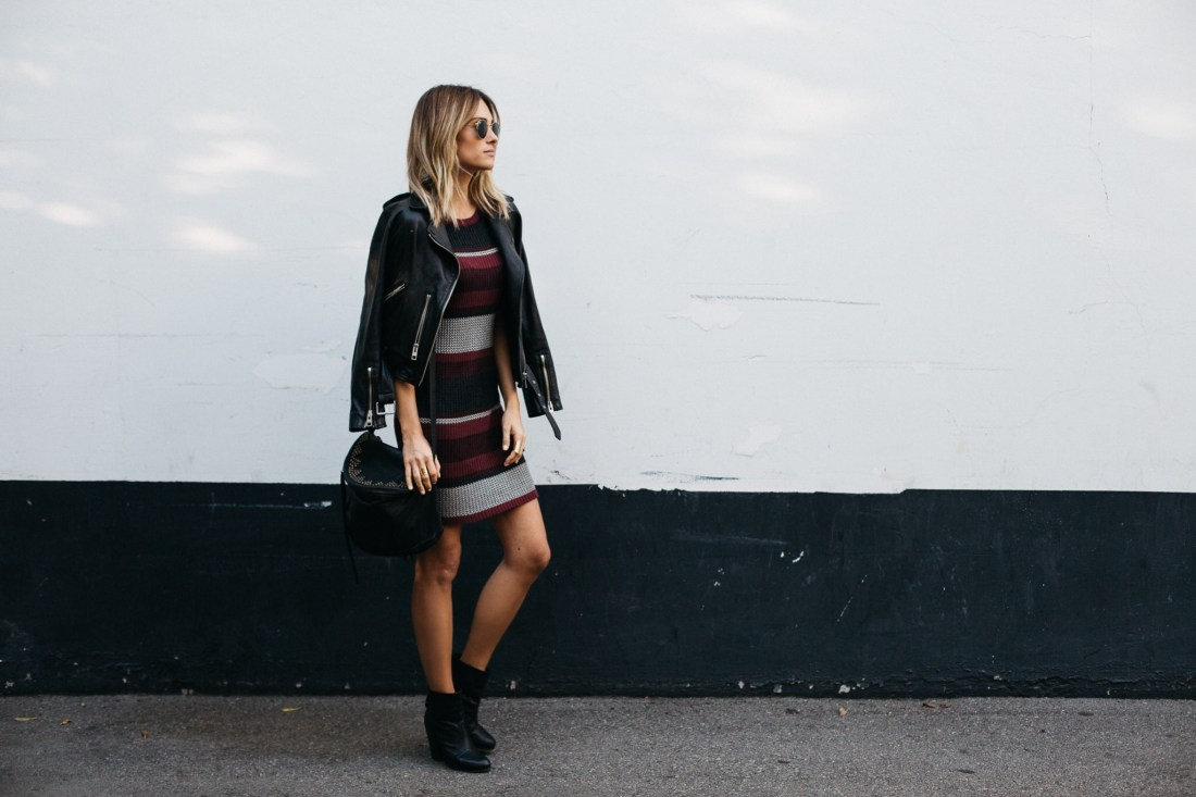 Ribbed Knit Sweater Dress | OOTD Jen Hawkins on Palms to Pines fashion blog