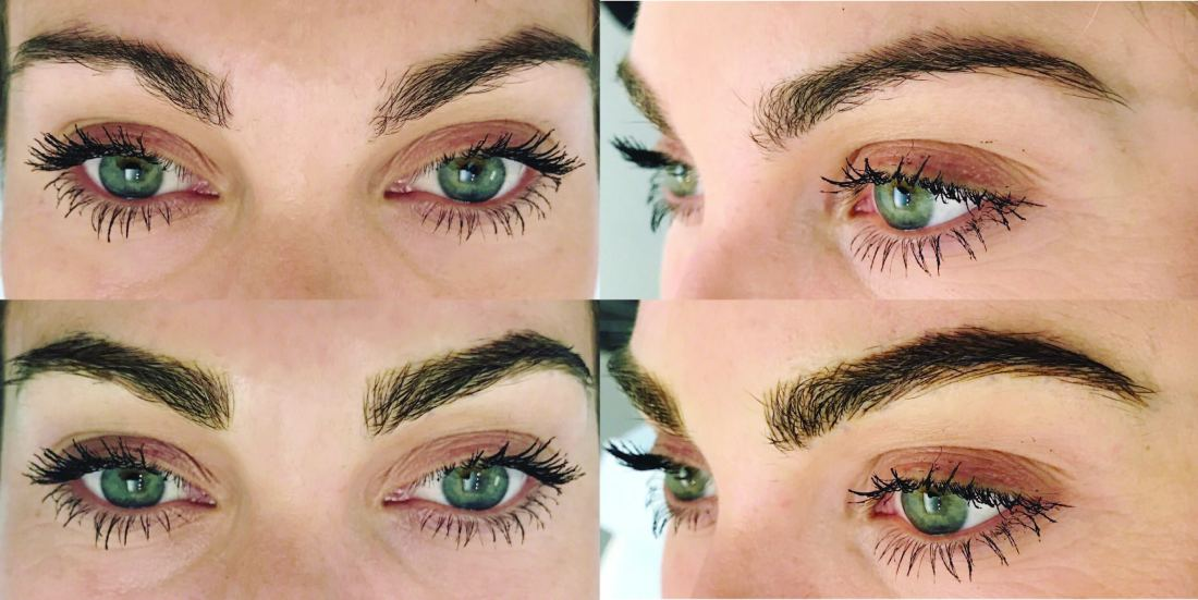 Jen Hawkins on Microblading and brows | Palms to Pines Style Blog