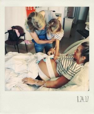Hospital Visitors | 28 Weeks Antepartum