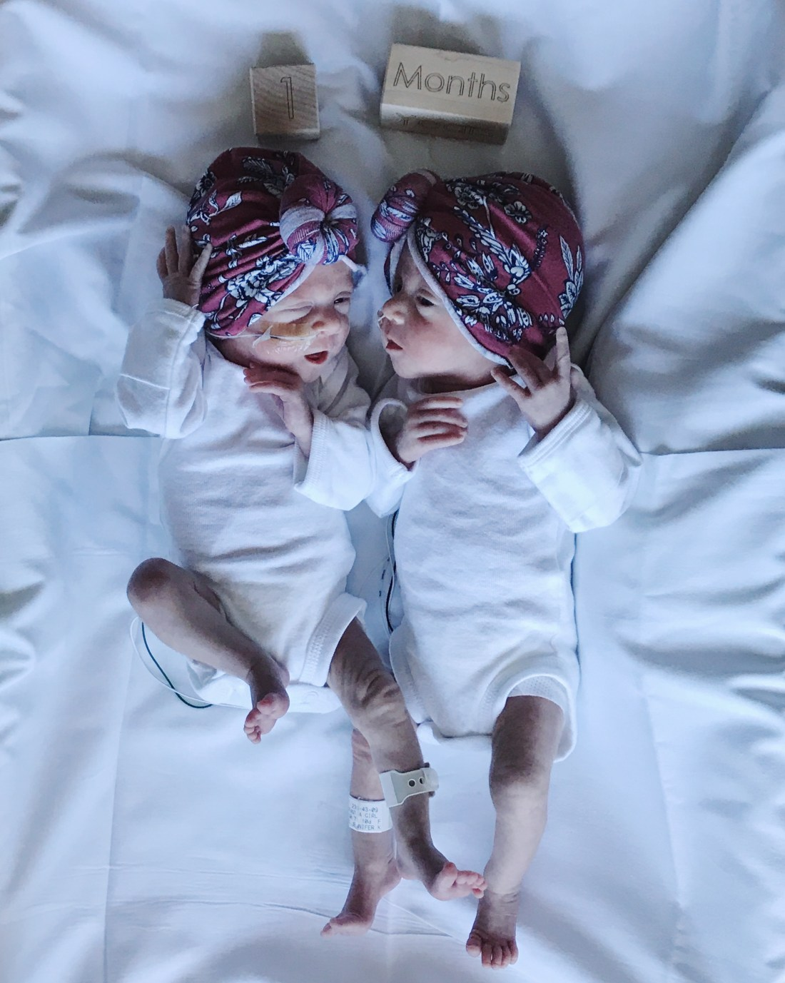 Preemie Twins | NICU | One month old