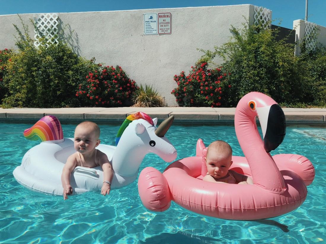 Baby Pool Floats   Unicorn   Flamingo   Swimsuit   Palms to Pines