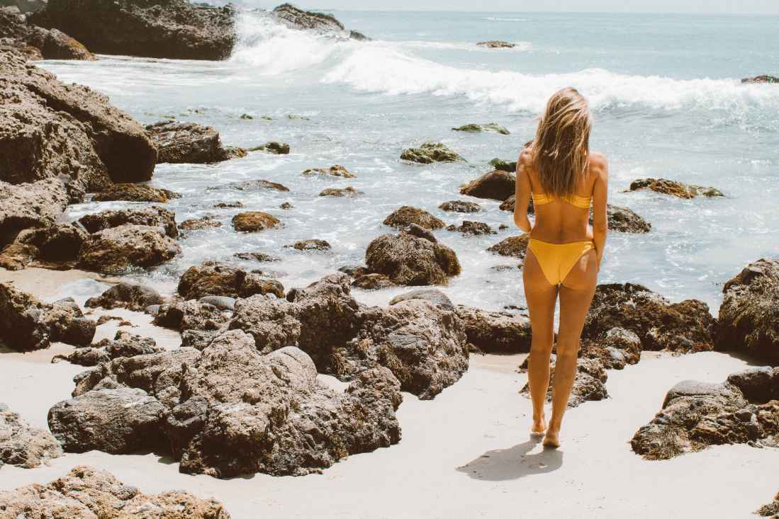 L*Space Yellow Swimsuit | The Shop Laguna | Palms to Pines