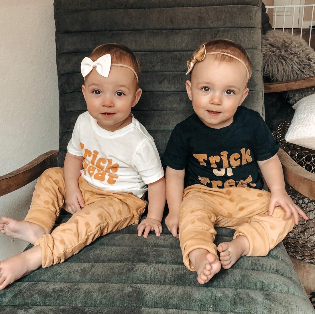 Halloween Baby Tee Shirts