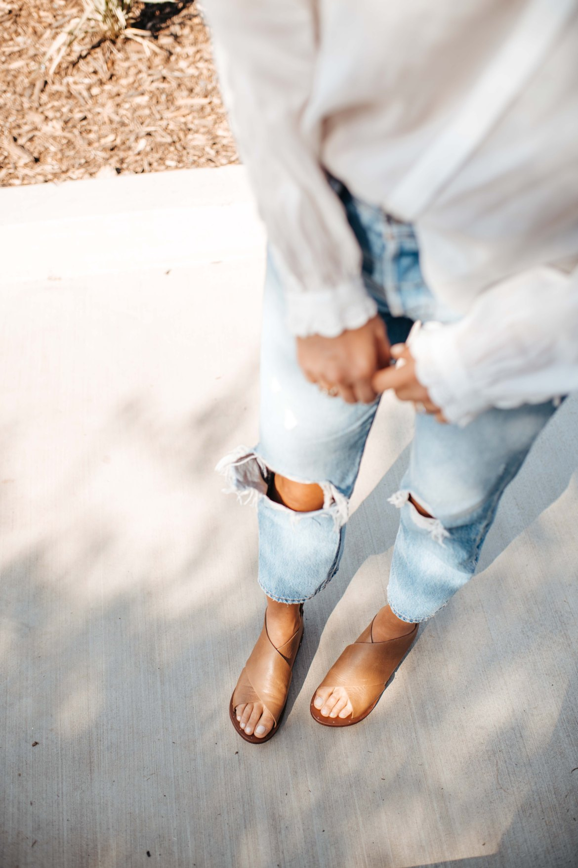Trovata | Beek Loon Sandals | Ripped Levis