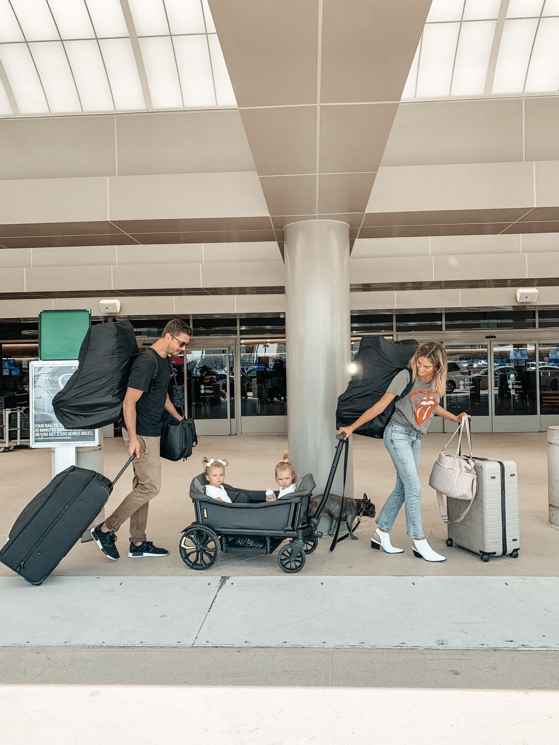 Traveling with Twin Toddlers