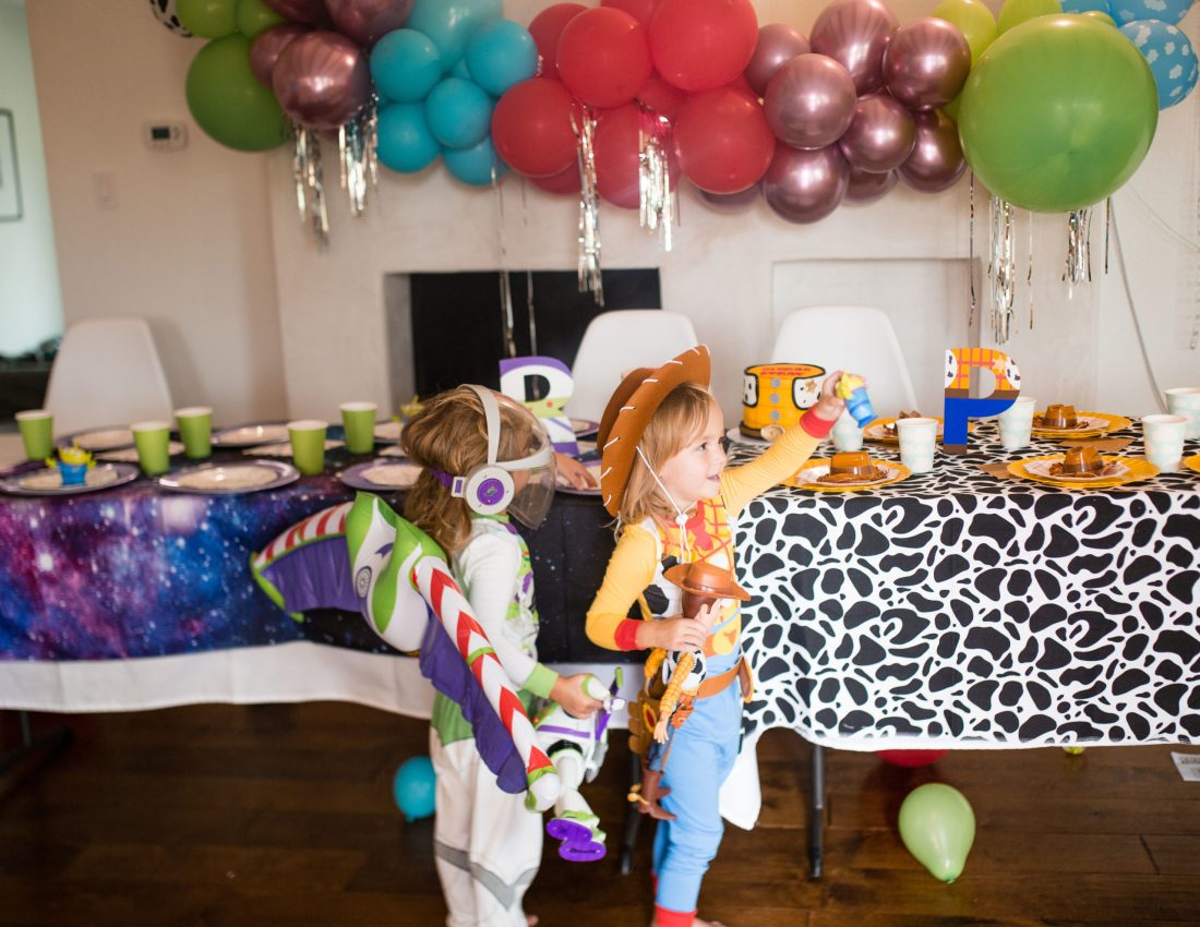 Twins 3rd birthday - Toy Story party theme