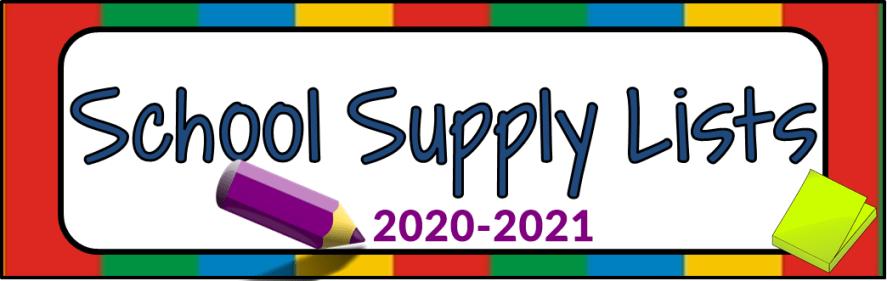 supply list banner