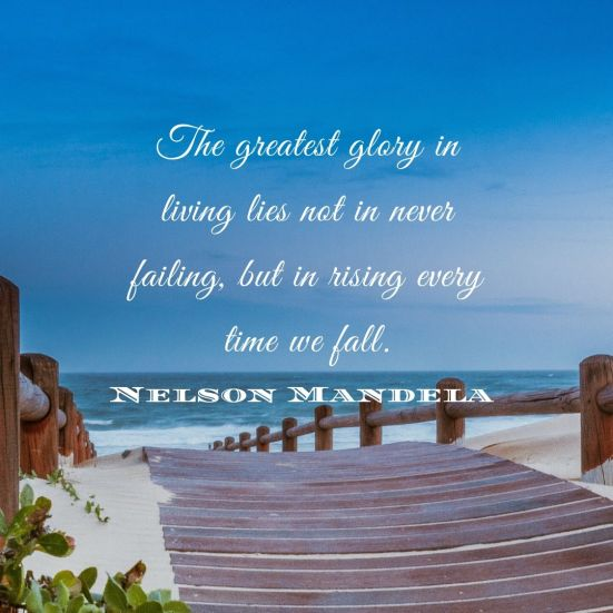 Nelson Mandela Quote used in Blog