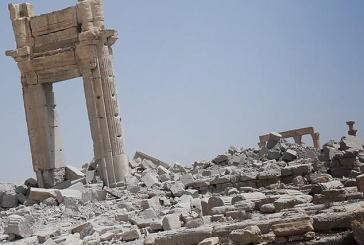ISIS show off their destruction of 2,000-year-old temple at Palmyra