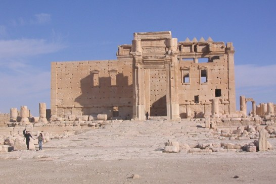 UCSD RECONSTRUCTS PALMYRA'S TEMPLE OF BEL