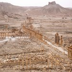 How about (re)discovering the internationally known columns of Palmyra?