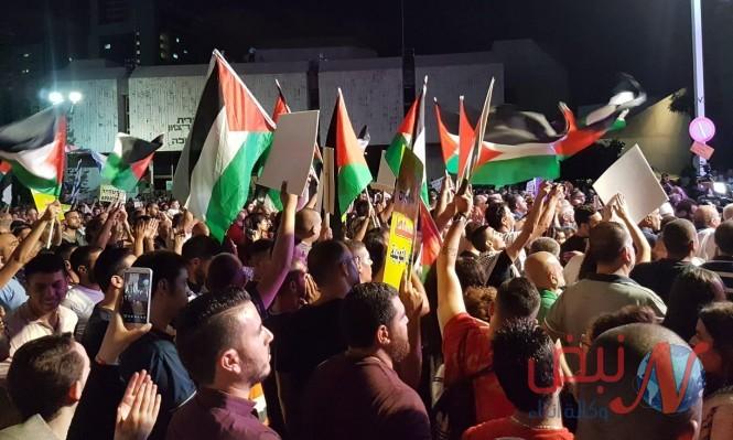 بركة : يحيي عشرات آلاف المتظاهرين وجهود إنجاح مظاهرة تل أبيب
