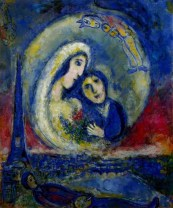 Lovers, Marc Chagall (1934)