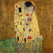 Lovers, Gustave Klimt (1908)