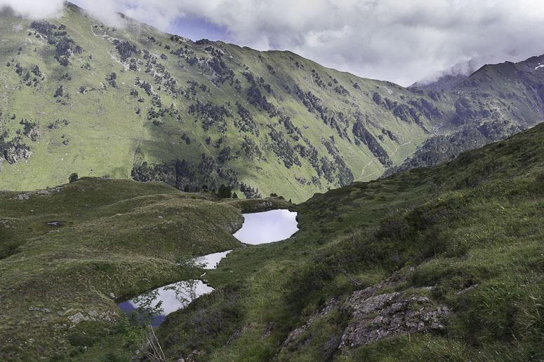 Lac vert vallée du lys