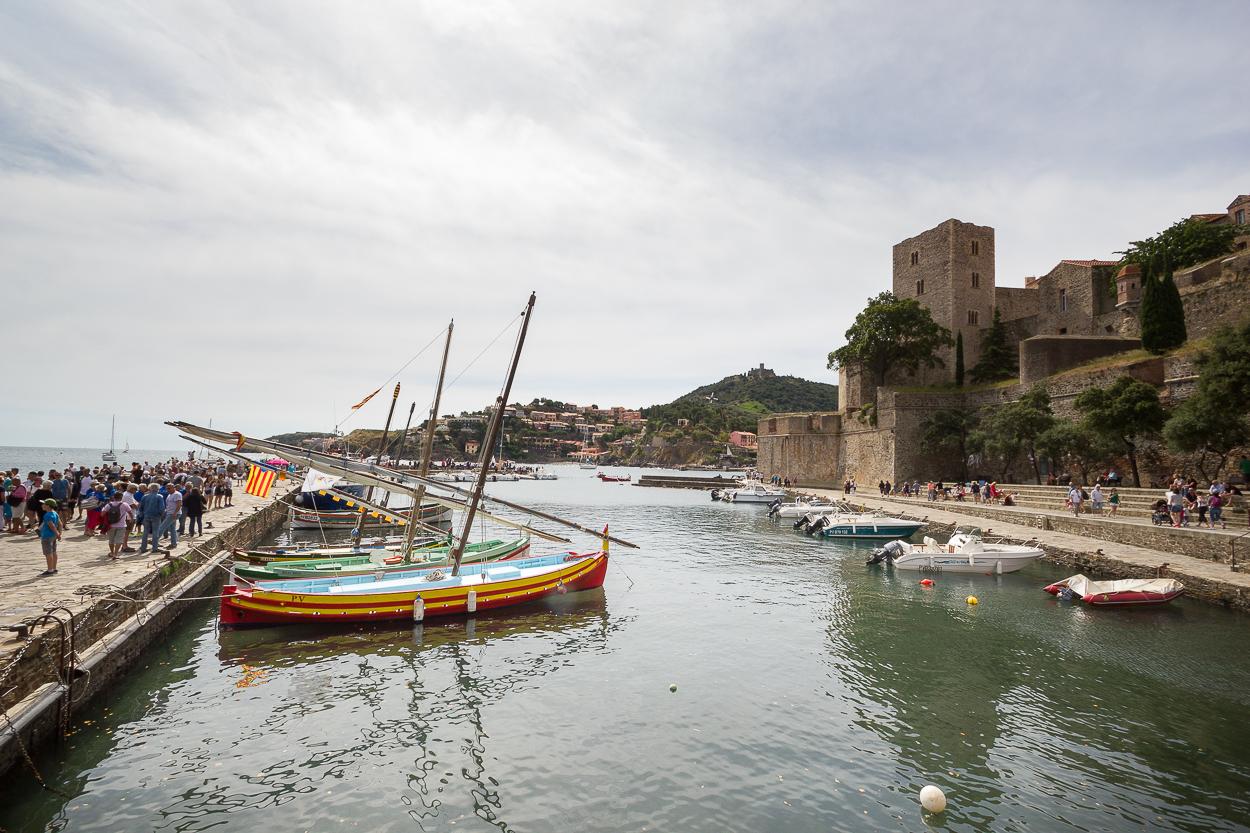 Collioure et fort St Elme