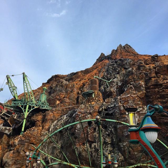 Tokyo DisneySea - Mount Prometheus
