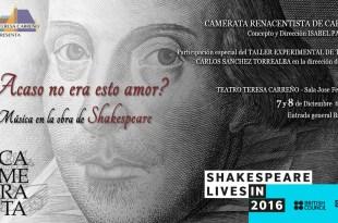 Celebrando a Shakespeare