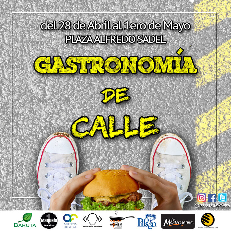La Gastronomía de Calle Llega a la Plaza Alfredo Sadel