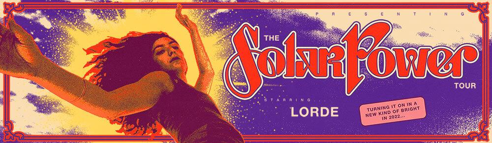 Lorde Solar Power Tour 2022
