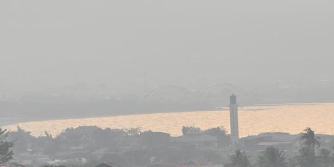 Kabut Asap di Sulteng Mengkhawatirkan