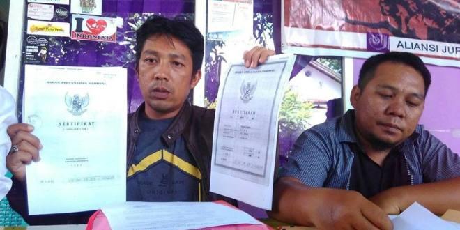 PT ANA Diklaim Serobot 996 Hektar Lahan Masyarakat