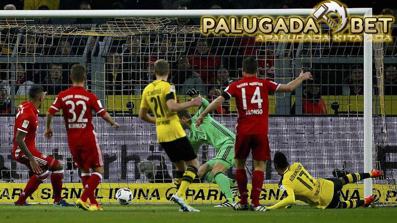 Gol Tunggal Aubameyang Menangkan Dortmund Atas Tamunya Bayern - PLG