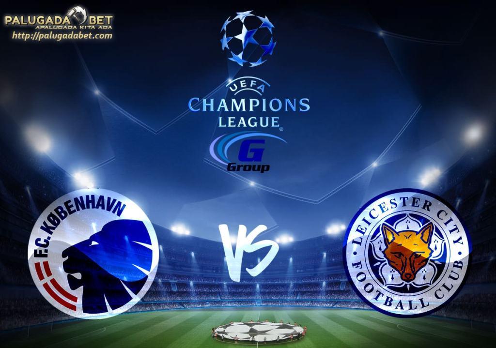Agen Taruhan Bola - Prediksi FC Copenhagen vs Leicester City 3 November 2016