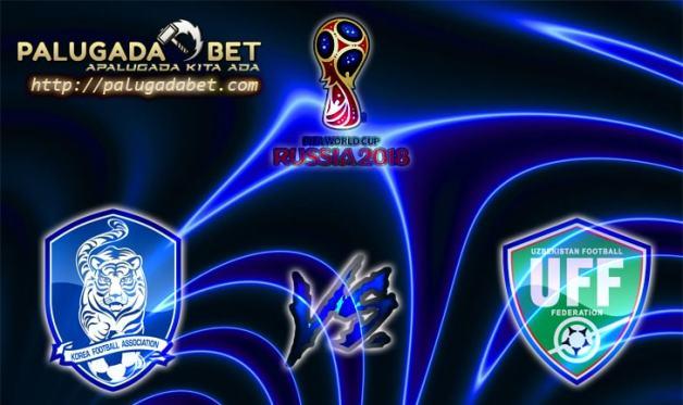 Prediksi Korea Selatan vs Uzbekistan 15 November 2016 (Kualifikasi World Cup)