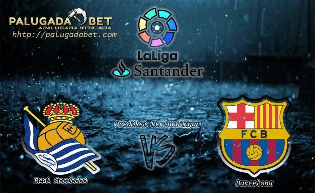 Prediksi Real Sociedad vs Barcelona 28 November 2016 (LaLiga Santander)