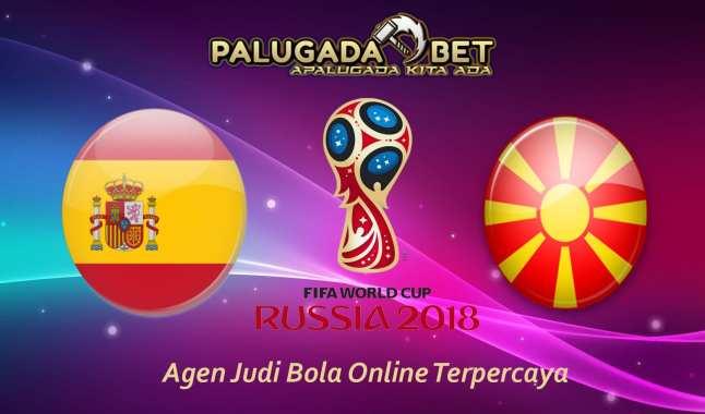 Prediksi Spanyol vs Macedonia (Kualifikasi WC 2018) 13 November 2016 - PLG