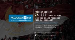 PALUGADABET Free Bet Agen Bola dan Sabung Ayam