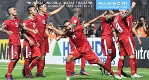 Rizky Pora Indonesia 2 1 Thailand AFF Suzuki Cup 2016 final leg pertama