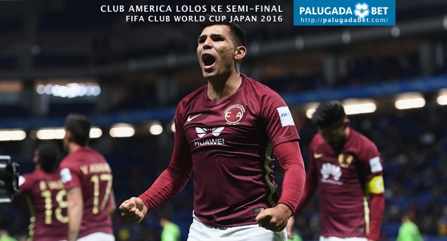 Silvio Romero Club America Jenbuk FCWC Jepang 2016