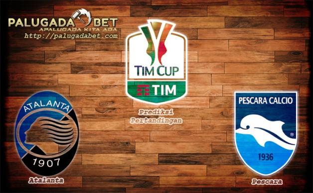 Prediksi Atalanta vs Pescara 1 Desember 2016 (Coppa Italia)