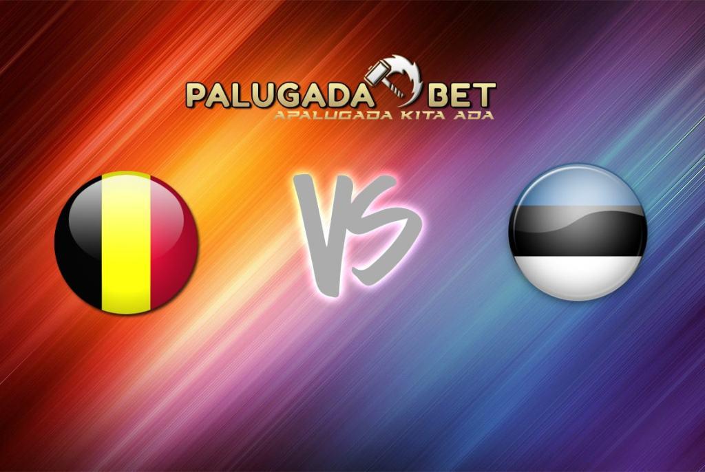 Preview Laga Belgia VS Estonia 14 November 2016