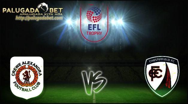 Prediksi Crewe Alexandra vs Chesterfield 9 November 2016 (EFL Throphy Grup B)