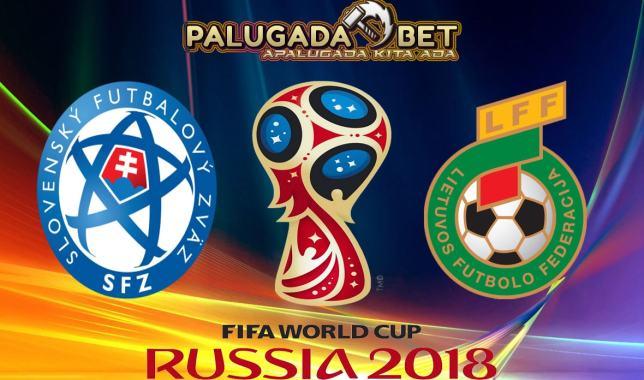 Prediksi Slovakia vs Lithuania (Kualifikasi WC 2018) 12 November 2016 - PLG.