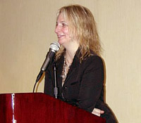 Marisa Acocella Marchetto, author of the 2006 graphic memoir, Cancer Vixen