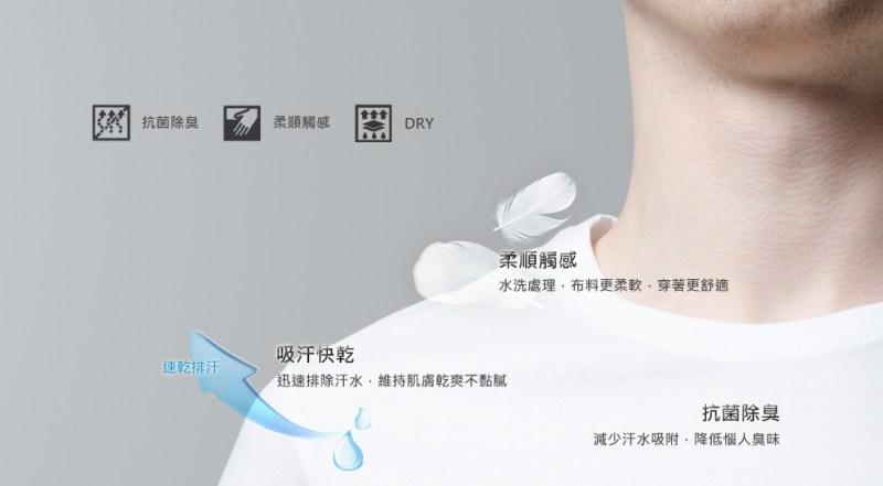 Saydow Dry 快乾T恤 (取自官網)