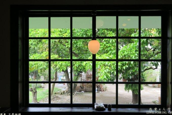 美麗的窗景