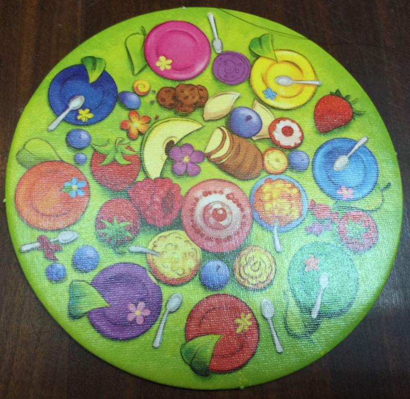 瓢蟲派對上的食卓